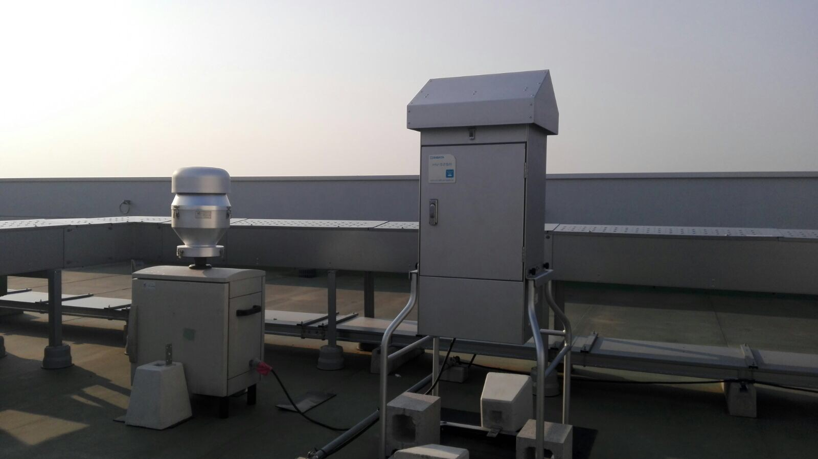 New surface air sampling campaigns in Toyama and Kumamoto